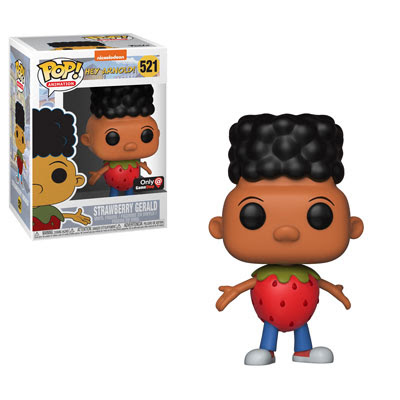 90s-Nick-Funko-Pop-Animation-Gerald-Johanssen-As-Strawberry-Downtown-As-Fruits-Hey-Arnold-Nickelodeon-NickSplat-Nick
