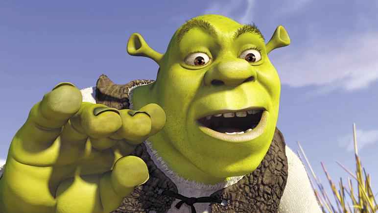 "Mike Myers as Shrek in ""Shrek"""